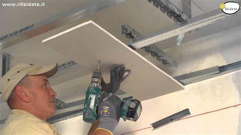 posa cartongesso soffitto lavori cartongesso posa dell orditura metallica