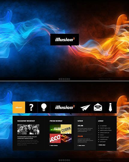 80 Best Images About Javascript Based Website Templates On Pinterest Cool Portfolio Templates