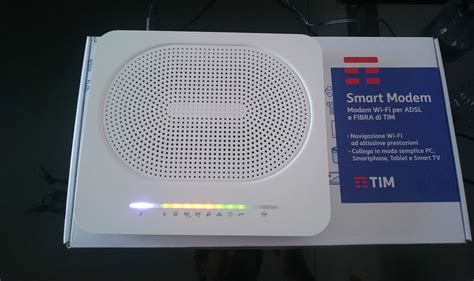 Modem Router Smart Re251 smart modem router wi fi adsl e fibra tim telecom 2016