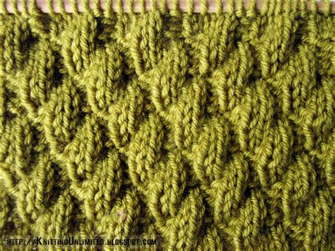 knit in the knit purl combinations pattern 6 diagonal stitch 2