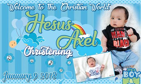 tarpaulin layout design for christening simple but cute tarpaulin design for christening get layout