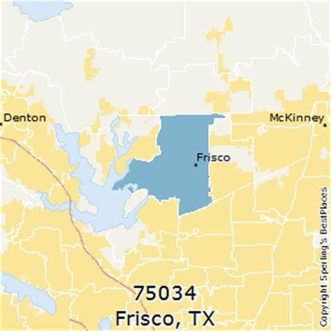 frisco texas zip code map best places to live in frisco zip 75034 texas