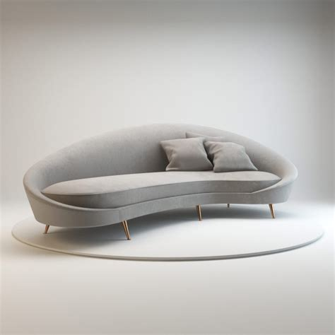 furniture alluring unique curved couches with classic