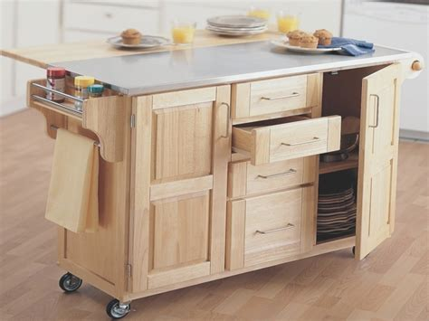 Rolling Island For Kitchen Rolling Kitchen Island With Seating Home Design