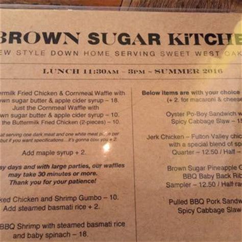 Brown Sugar Kitchen Menu by Brown Sugar Kitchen 1501 Photos 2567 Reviews Soul