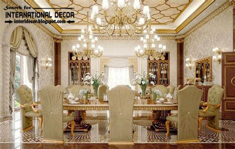 international home interiors luxury classic dining room interior design decor and