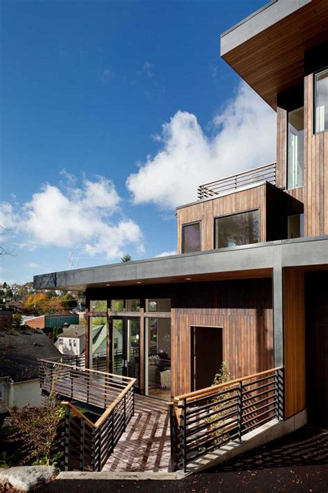 exceptional  ecological madison park tree house  seattle washington home design lover