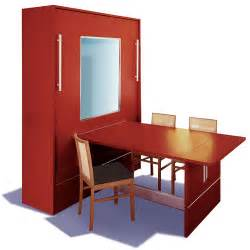 Murphy Bed With Table Went To Portland Dining Table Murphy Bed Dining Table
