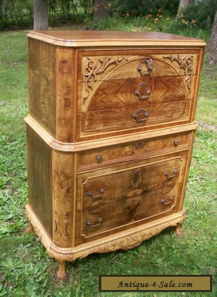 Antique Cribs For Sale by Marquetry Masterpiece Antique Furniture Chest Drawers