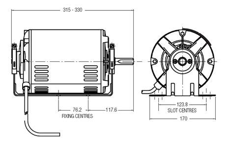 fasco evap fan motor