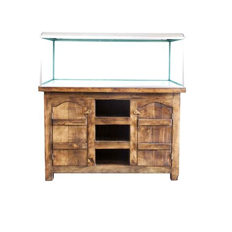 buy unique wrangler rustic aquarium stand