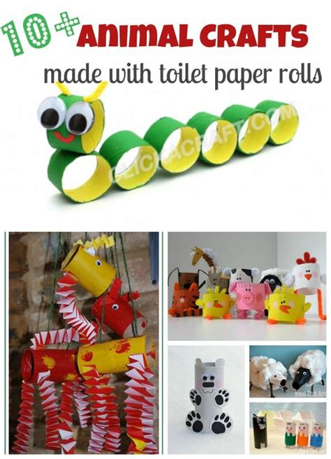 Recycle Toilet Paper Rolls Crafts - 10 craft ideas with toilet paper rolls these are