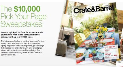 Crate And Barrel Sweepstakes - crate barrel sweepstakes in seattle