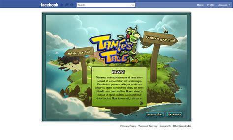facebook games house design tamers tale facebook game game ui design freelancer antonw