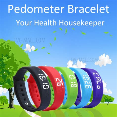 Gelang Sport W5s Pedometer Fitness w5s detachable sports smart bracelet support sleep monitor pedometer calorie consumption