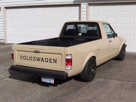 volkswagen rabbit truck custom 1980 vw volkswagen rabbit pickup truck caddy super clean