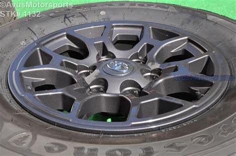 toyota oem wheels 16 quot toyota tacoma oem factory gray wheels sequoia 4runner