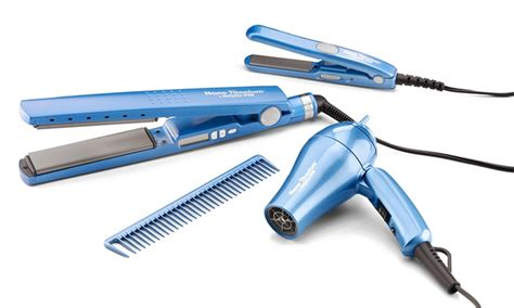 Babyliss Hair Dryer With Comb babyliss flat iron and hair dryer travel pack 5 livingsocial
