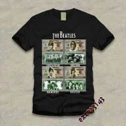 Kaos T Shirt The Beatles Logo jual baju kaos kaos the beatles