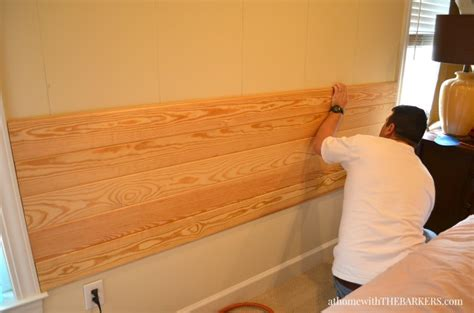 wood panel headboard diy diy headboard at home with the barkers