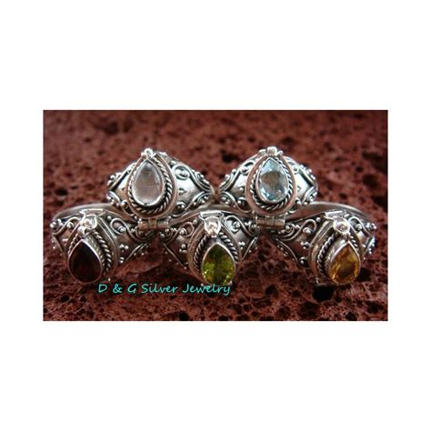Inspired Decor Wholesale by 5x Wholesale Sterling Silver Style Bali Keepsake Poison