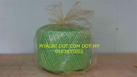 Tali Kain Pertanian Pengganti Tali Rafia sop penanaman melon secara fertigasi myagri mymyagri my