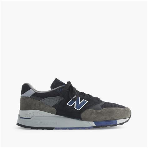 new balance sneakers mens lyst new balance 998 nighthawk sneakers in gray for