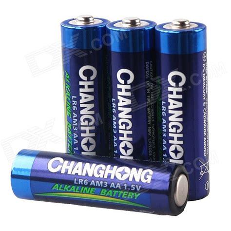 Ac 1 4 Pk Changhong changhong lr6 am3 aa 1 5v alkaline battery pack 4 pcs free shipping dealextreme