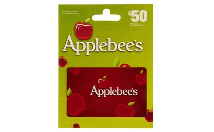 Free Applebees Gift Card - 50 applebee s gift card 39 shipped 11 savings