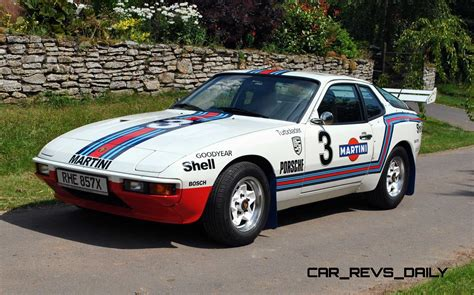 Porsche Sweepstakes - pristine porsche 924 martini rally car up for grabs in new uk sweepstakes