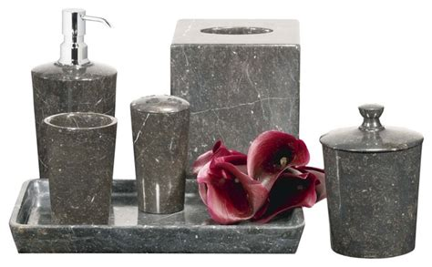 mink marble bath set bathroom accessories chicago by