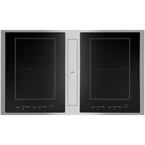 induction cooktop with downdraft ventilation combination induction cooktop downdraft ventilation