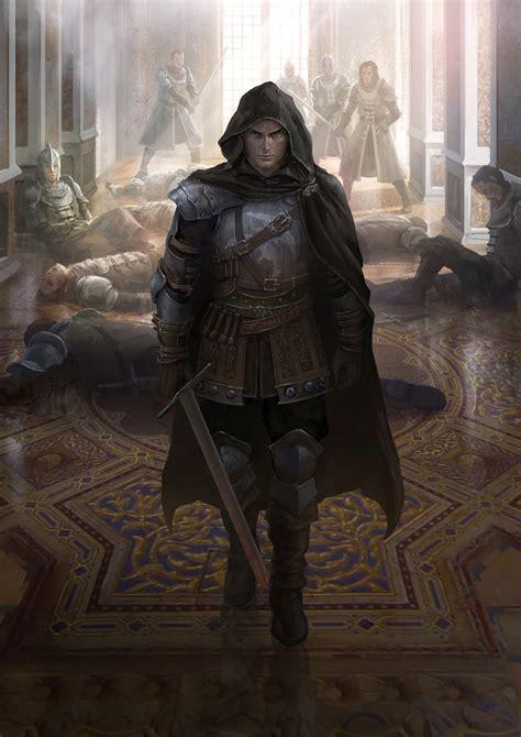 the art of assassins artstation assassin shen fei