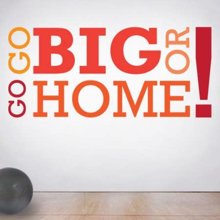 big home wall decal quotes