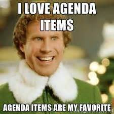 Agenda Meme - optimize your meetings with meeting rhythms and agendas
