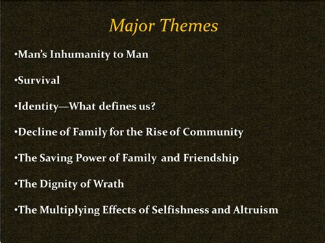 Biblical Themes In The Grapes Of Wrath | the grapes of wrath john steinbeck ppt video online download