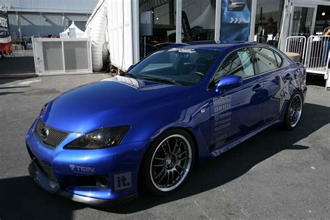 blue lexus lexus is f blue