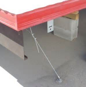mobile home tie downs portable building construction trailer tie downs
