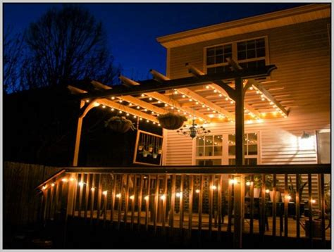 Led String Lights For Patio Outdoor Led Patio Lights Icamblog