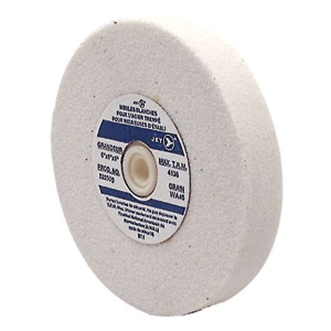bench grinding wheels for sharpening jet 522502 6 x 3 4 x 1 wa60 bench grinding wheel