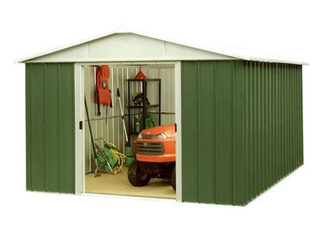 10 X 10 Aluminum Shed by 10 X 10 Yardmaster 1010geyz Apex Metal Garden Shed What Shed