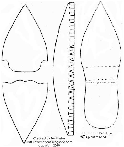 slipper template shoes pattern search results calendar 2015