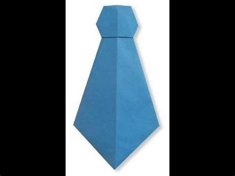 How To Make A Tie With Paper - how to make a paper neck tie hd