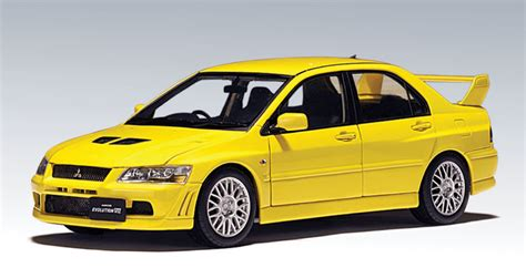 2002 Mitsubishi Lancer Evolution 7 Biru Skala 64 Jdm Tuner autoart mitsubishi lancer evo vii yellow 20231 in 1 64 scale mdiecast