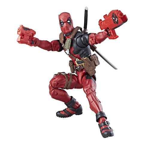 deadpool toys photos marvel legends thor figures revealed by hasbro plus new deadpool images inside