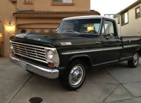 1967 Ford F100 For Sale 2 Owner 1967 Ford F100 Bring A Trailer