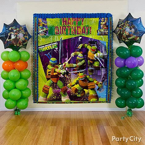 Avengers Table And Chair Set - teenage mutant ninja turtles party ideas party city