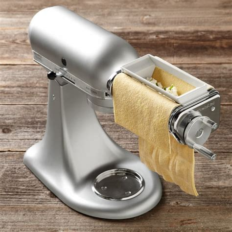 kitchenaid 174 mixer ravioli attachment williams sonoma