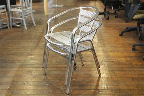 Dales Furniture by Dale Aluminum Cafe Chairs Peartree Office Furniture