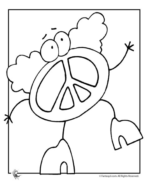 peace sign coloring pages for adults coloring pages